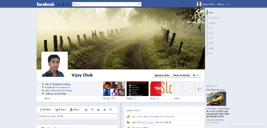 FB Timeline Profile