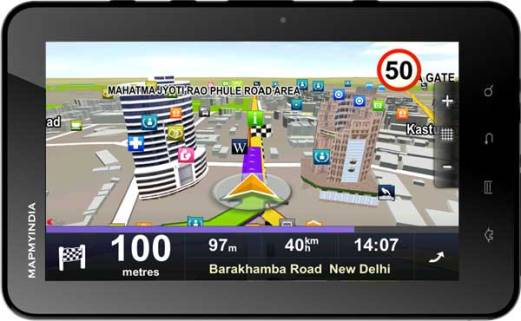 MapMyIndia Carpad Android Navigation Tablet