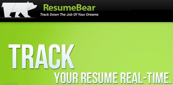 Build, create and track resume with resumebear