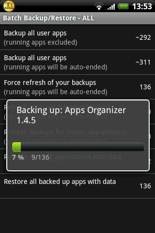 titanium backup and restore app for android screenshot 2