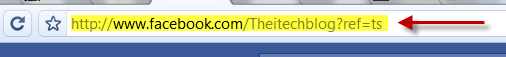 facebook-address-bar