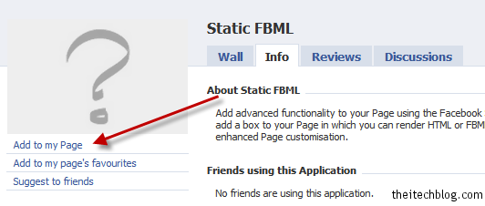 fbml add page