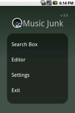 how to delete album from music library on android tablet