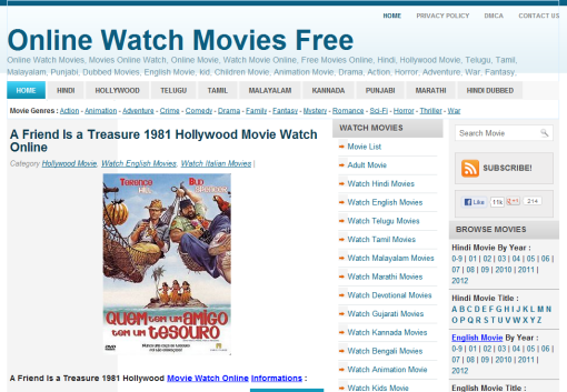 online watch movies free