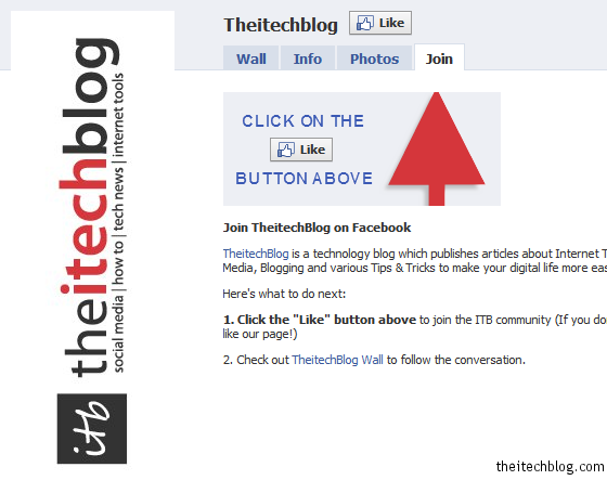 TheitechBlog Facebook Page