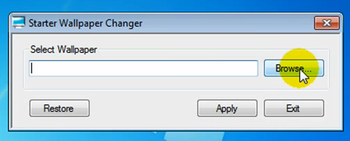 How To Change Wallpaper In Windows 7 Starter Edition
